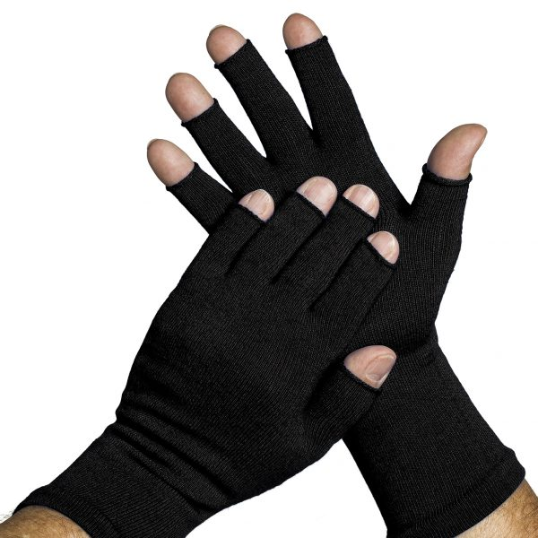 3-4_finger_glove_black