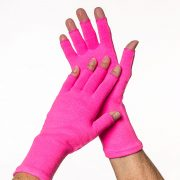 3-4_finger_glove_pink